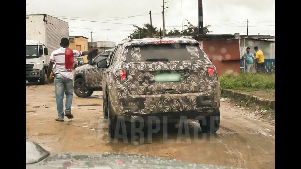 Flagra: Confira fotos do novo Jeep Compass como você ainda não viu!