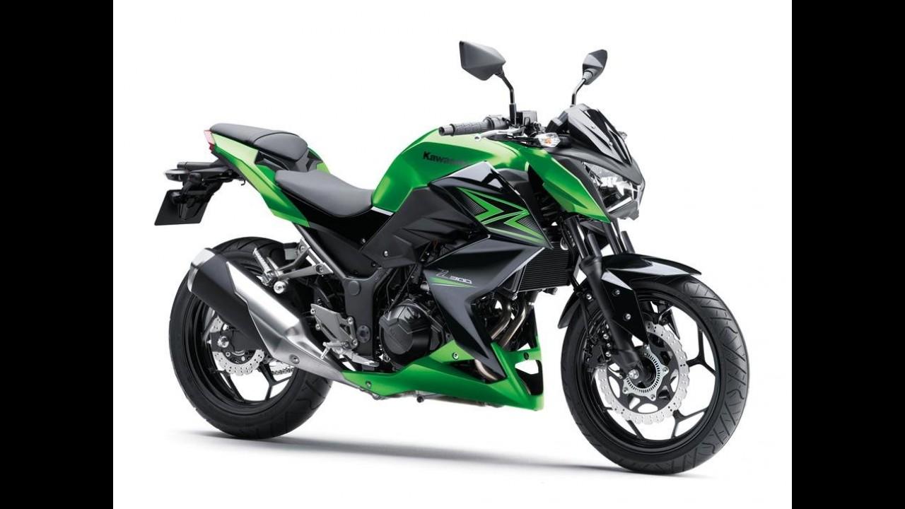 Flagra! Kawasaki prepara a Z125, uma inédita minibike com motor 125 cc
