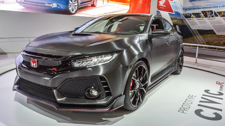 Prototype Honda Civic Type R au Salon de Montréal 2017