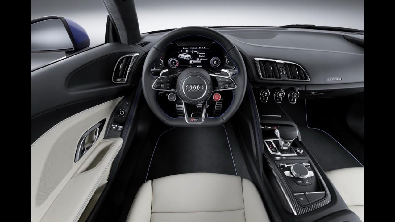 Veja o novo Audi R8 V10 de 610 cv em movimento - vídeo