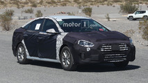 Hyundai Sonata and N Variant Spy Photos