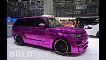 Hamann Mystere Pink Range Rover