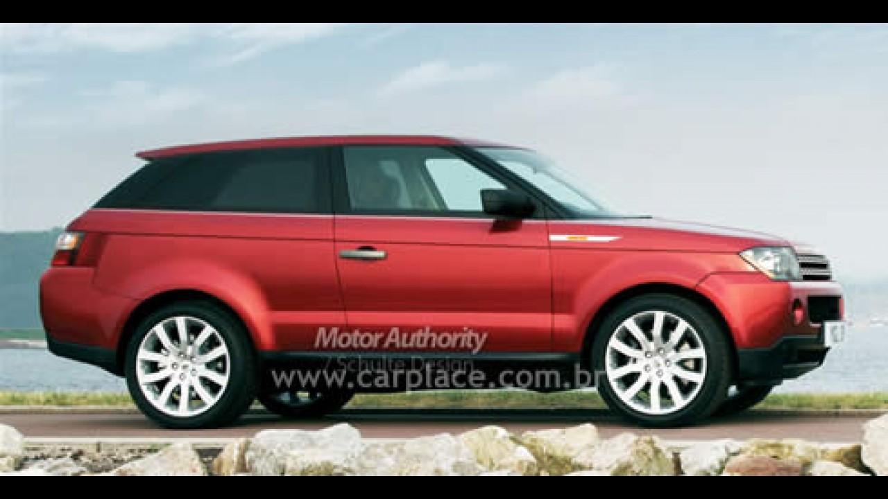 Revelada segunda imagem oficial do Land Rover Coupe-Crossover 2010