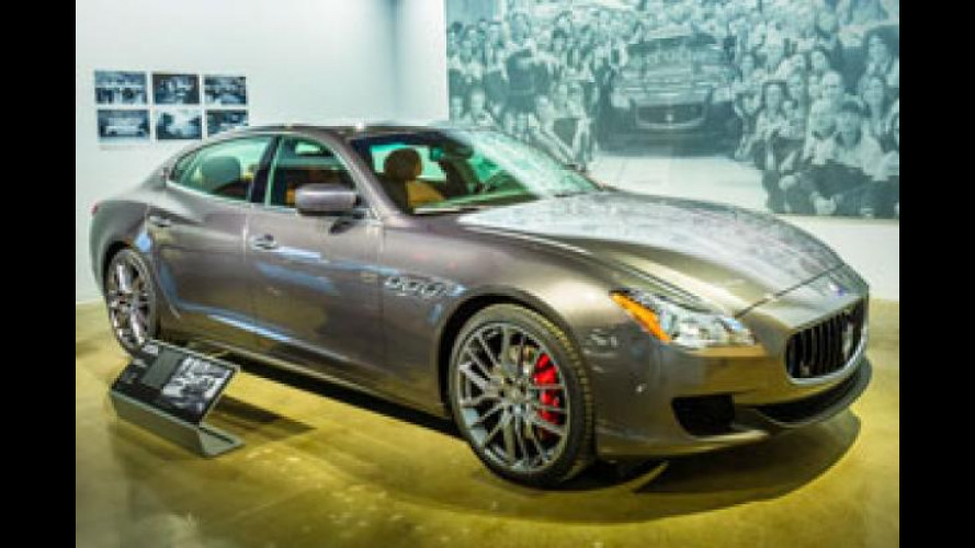 Maserati Quattroporte, a Los Angeles è in mostra come nasce
