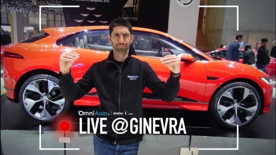 Salone di Ginevra, Jaguar I-Pace: un'altra idea di SUV [VIDEO]