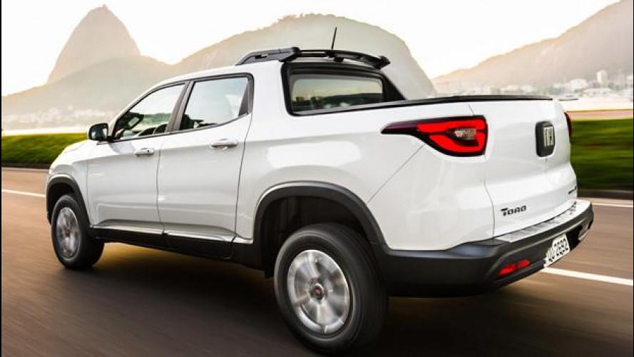 Fiat Toro arriva in Brasile con prezzi da 17.200 euro [VIDEO]
