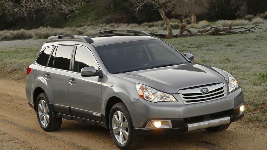 2010 Subaru Outback Surprises New York Crowds