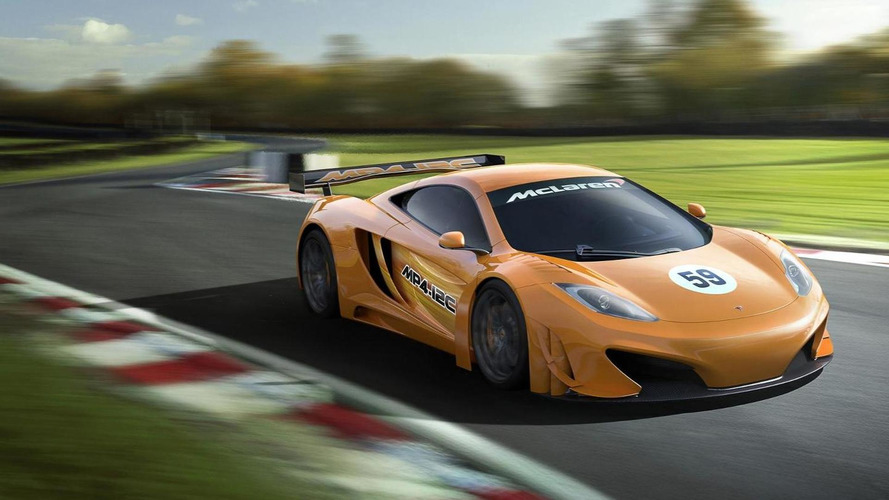 McLaren previews MP4-12C GT3 racer [video]