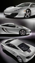 2010 McLaren MP4-12C - Silver Livery