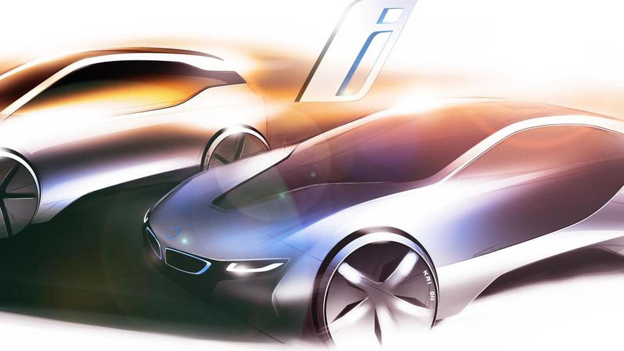 BMW i3 & i8 renderings - 21.2.2011