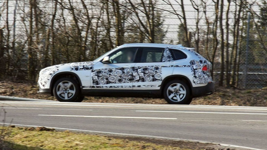 BMW X1 Latest Spy Photos Shows Rear Window