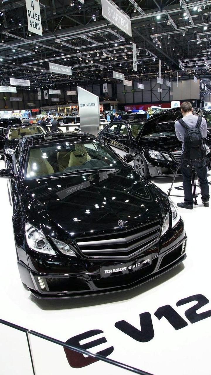 BRABUS E V12 Coupe live in Geneva 02.03.2010