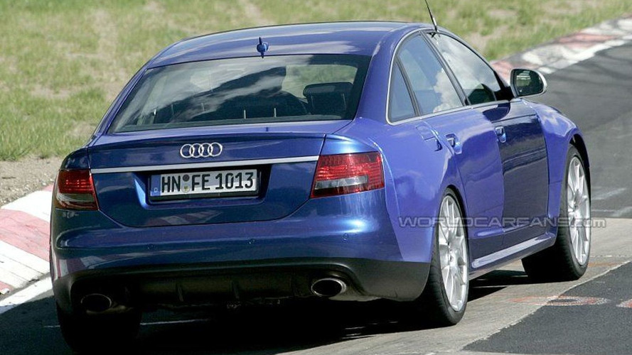 More Audi RS6 Spy Photos