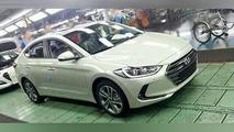 2016 Hyundai Avante / Elantra spy photo