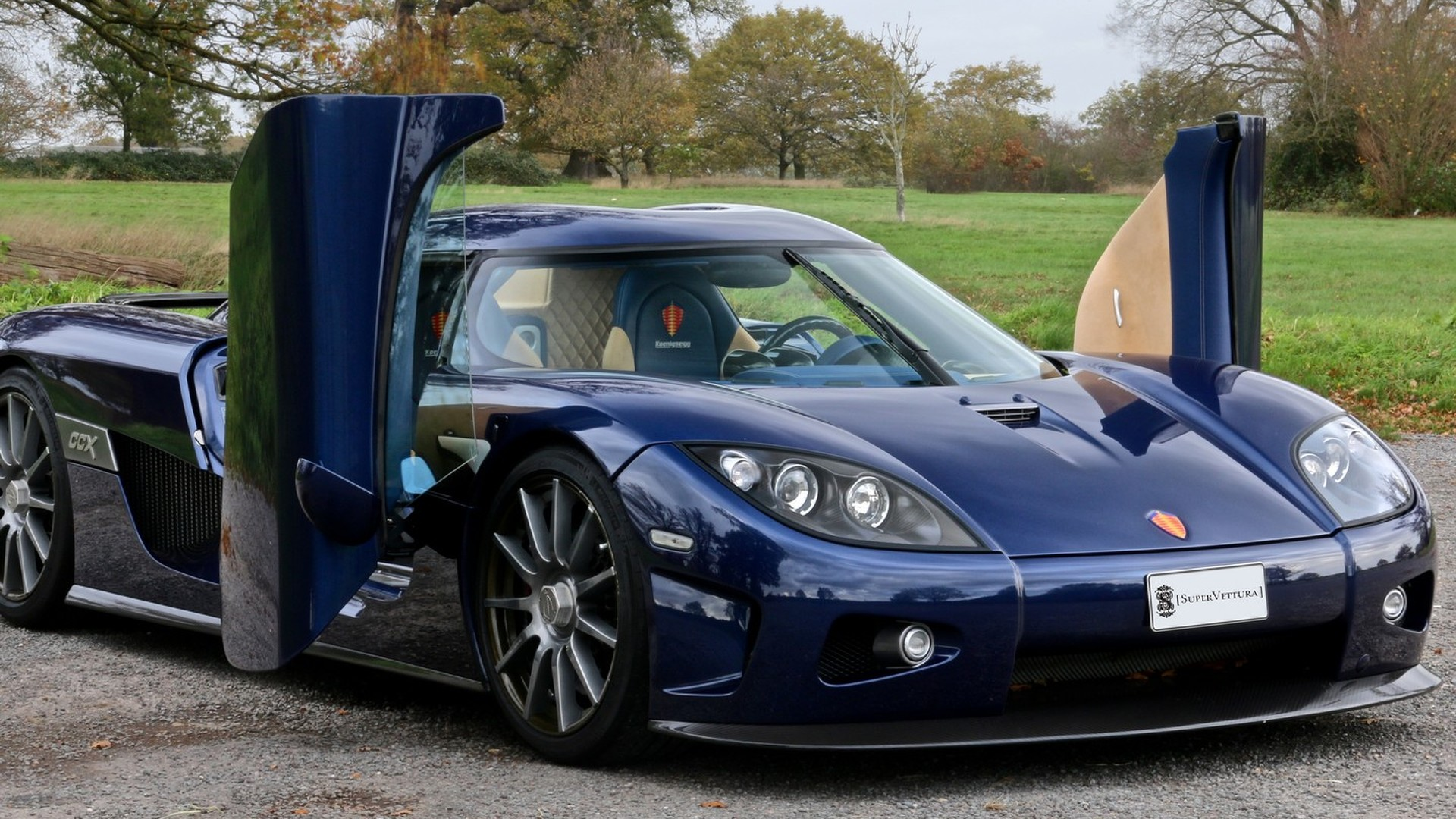 Koenigsegg CCX with delivery mileage costs $1.5M