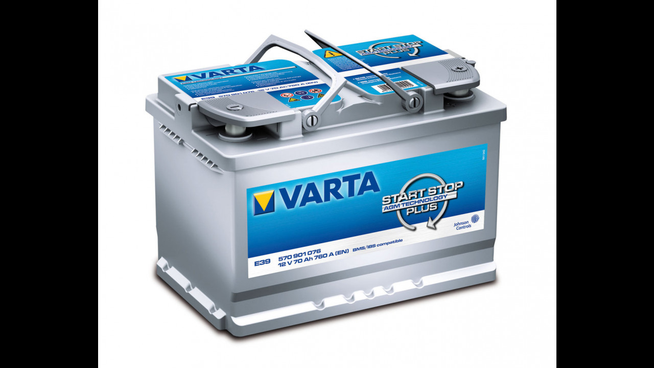 Batterie Varta e diagnostica vssp