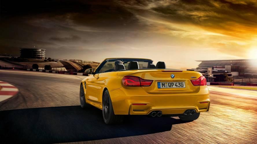 BMW M4 conversível especial celebra 30 anos dos M sem teto