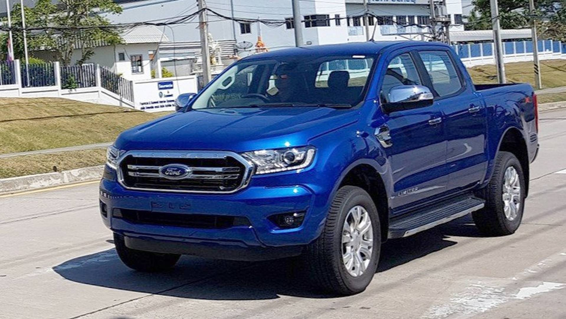 Ford Ranger 2019 >> 2019 Ford Ranger Spotted Completely Undisguised