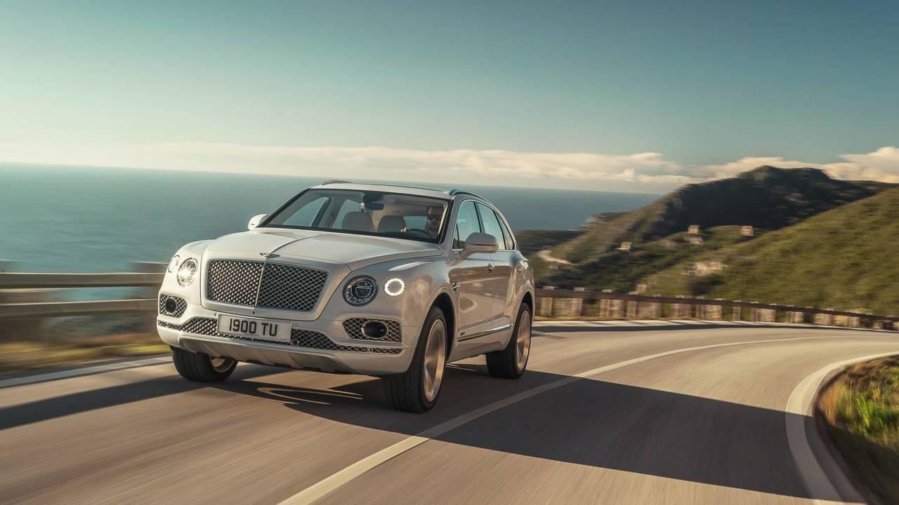 Bentley Bentayga Hybrid 2018