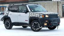 Jeep Renegade photos espion