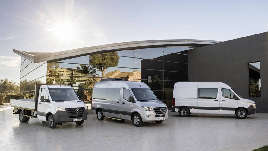 2018 Mercedes Sprinter çok yönlü yapısıyla tanıtıldı