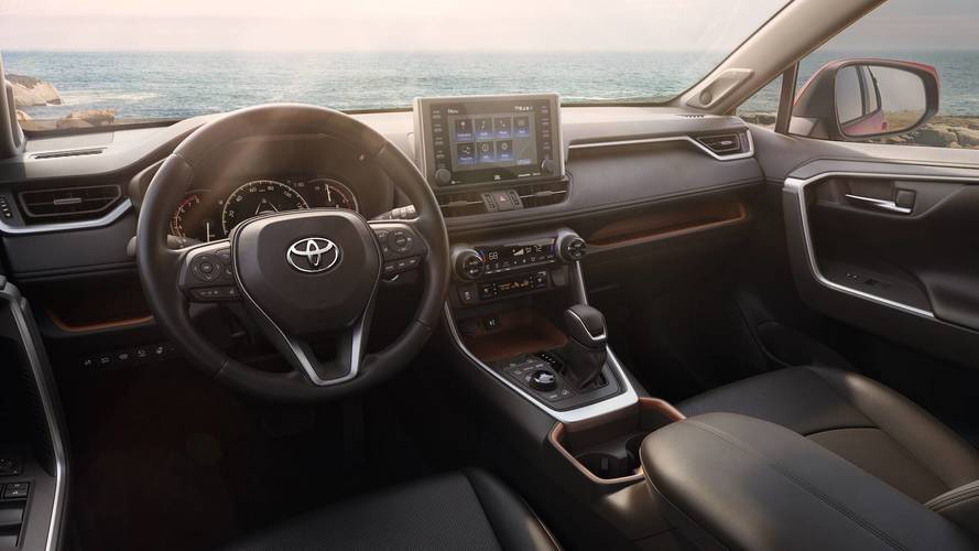 2019 Toyota RAV4 Side By Side