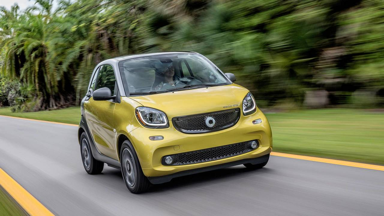 2. Smart ForTwo Electric Drive
