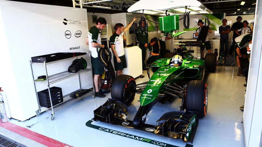 Caterham hits back after bailiffs seize F1 equipment