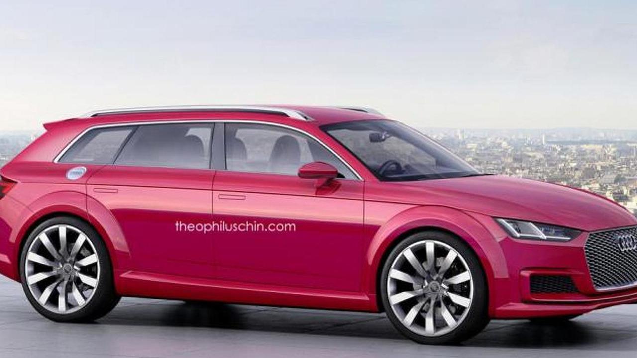 Audi TT Avant concept render