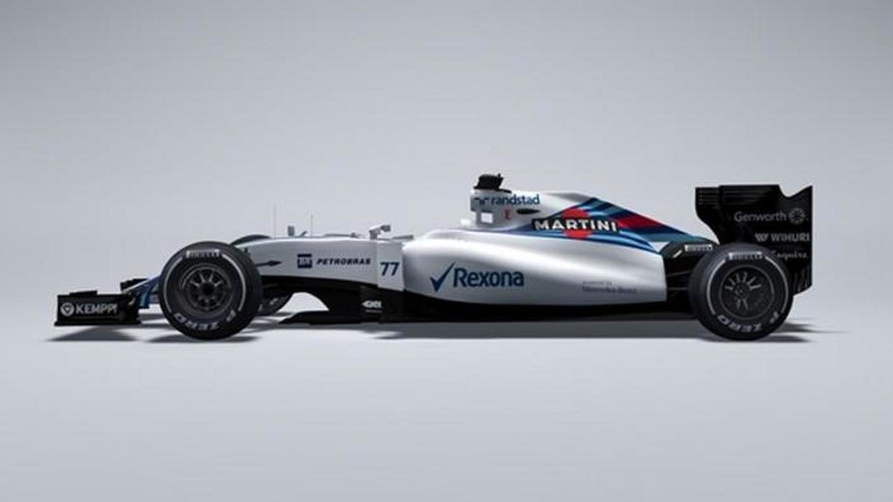 Williams Mercedes FW37 race car