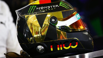 The helmet of Nico Rosberg (GER) Mercedes AMG F1 in the FIA Press Conference, 17.07.2014, Formula 1 World Championship, Rd 10, German Grand Prix / XPB