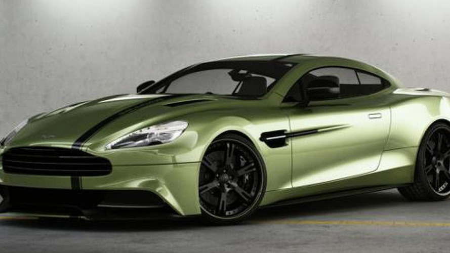 Aston Martin AM 310 Vanquish prepared by Wheelsandmore