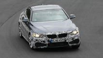BMW 4-Series Coupe with M Sport Package spied