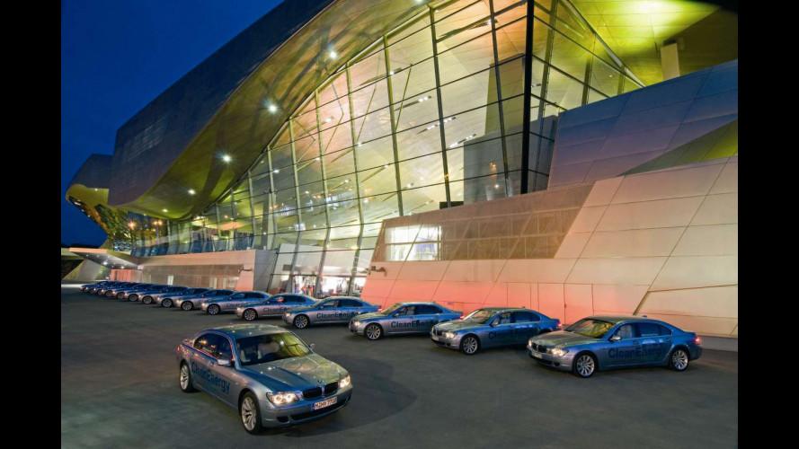 BMW: idrogeno nei pistoni meglio del gasolio