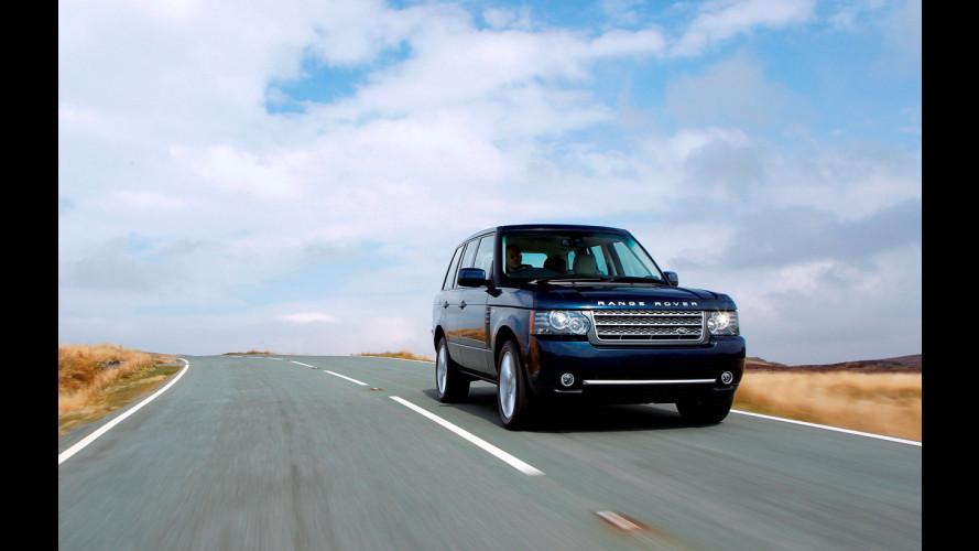 Range Rover con un nuovo Diesel V8