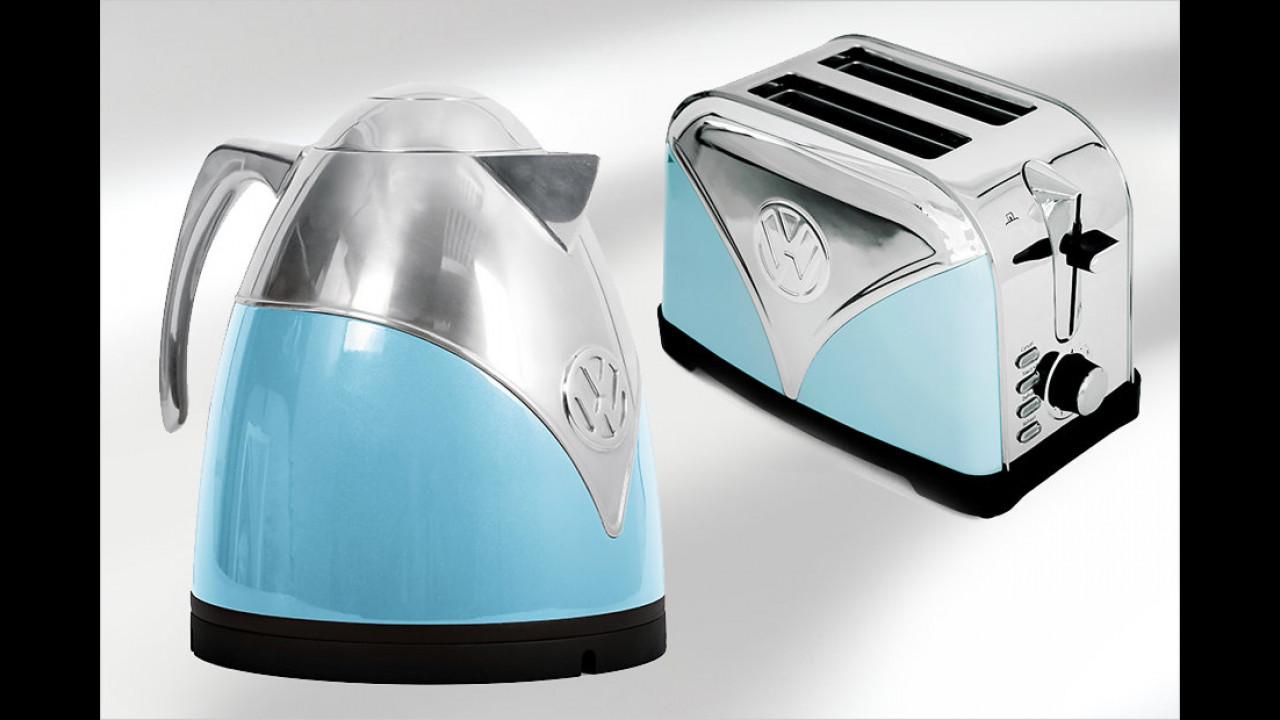 Wasserkocher und Toaster von VW