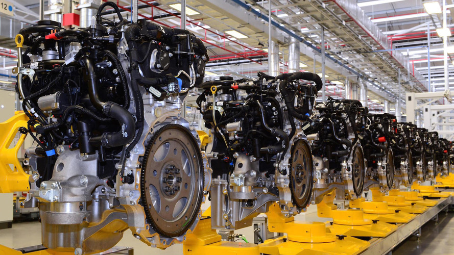 JLR Stars Building New Petrol Engine In Wolverhampton