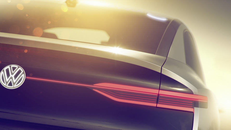 First Look At The VW I.D. Coupe-SUV Concept