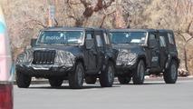 2018 Jeep Wrangler Spy Shots
