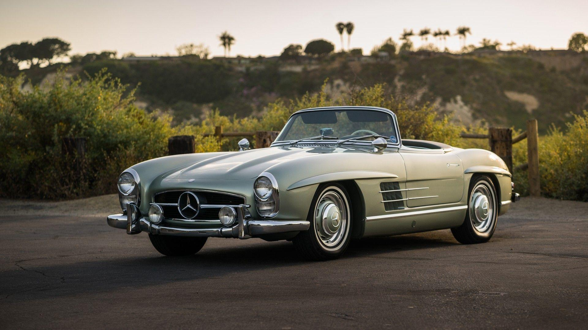auction bound mercedes 300sl roadster makes us green with envy. Black Bedroom Furniture Sets. Home Design Ideas