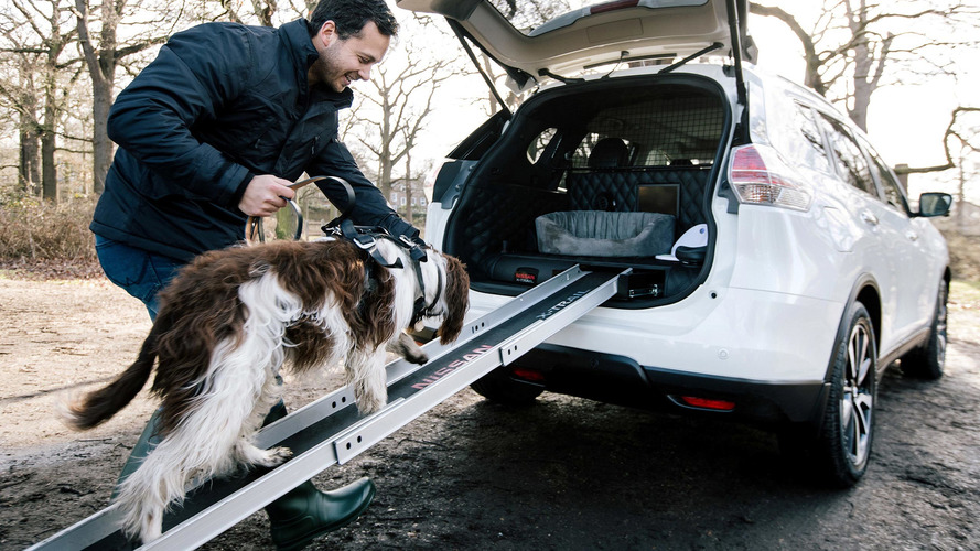 Nissan X-Trail 4Dogs is an SUV for dogs