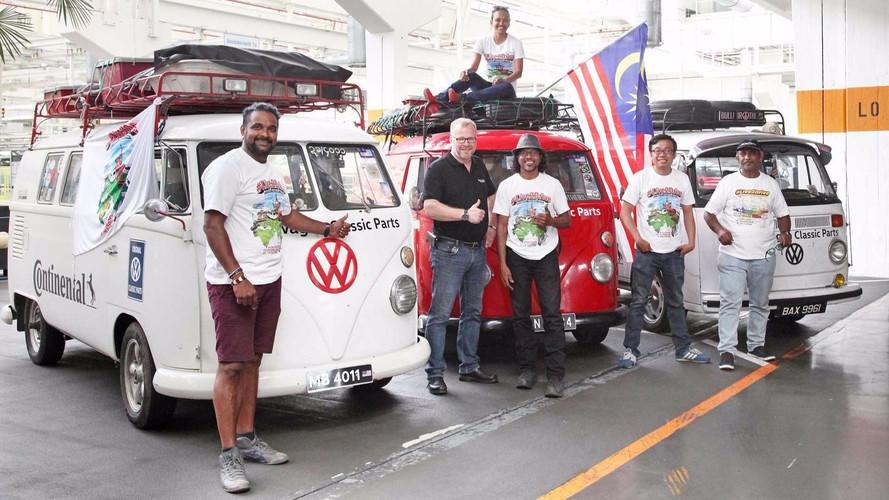 VW Combi  Road Trip