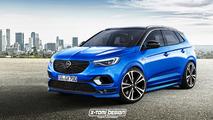 Opel Grandland X OPC Tasarım Yorumu