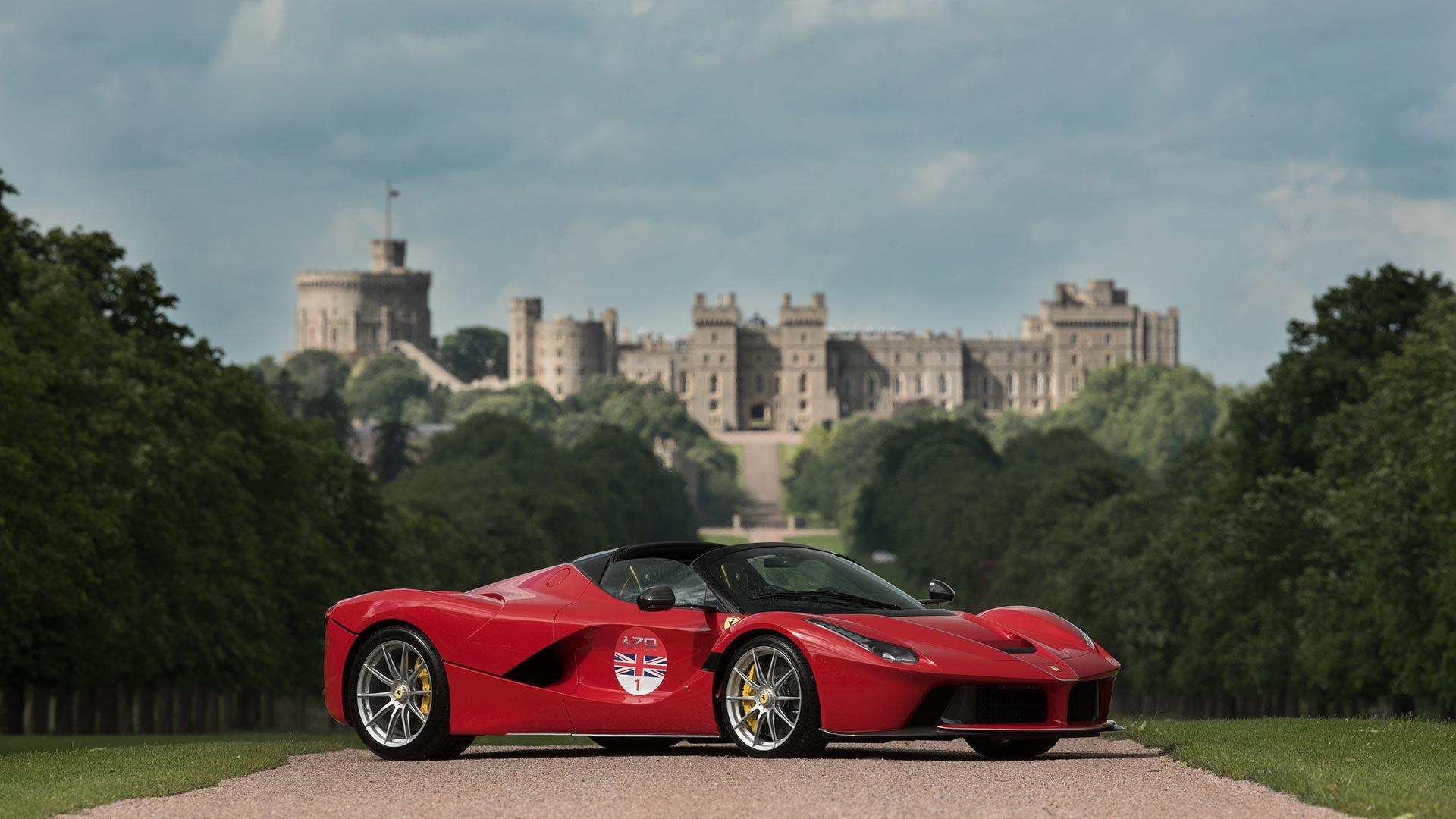 ferrari laferrari aperta embarks on u k tour this summer. Black Bedroom Furniture Sets. Home Design Ideas