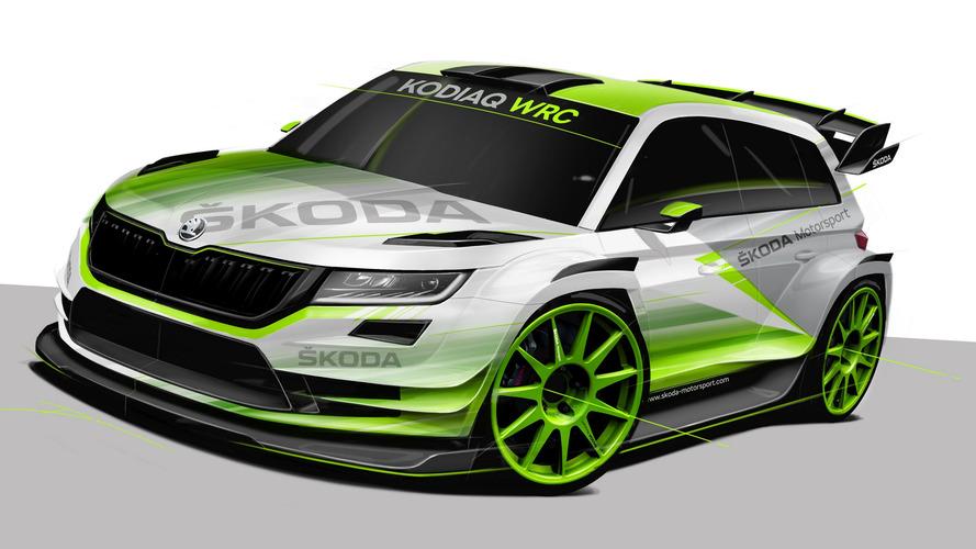 İşte karşınızda 2018 Skoda Kodiaq WRC!
