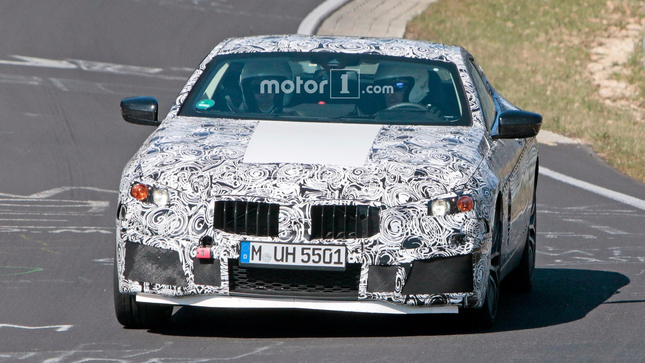 BMW M8 Spy Shots