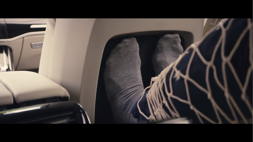 2018 Audi A8 Teaser Shows Off Seat That Will Massage Your Feet