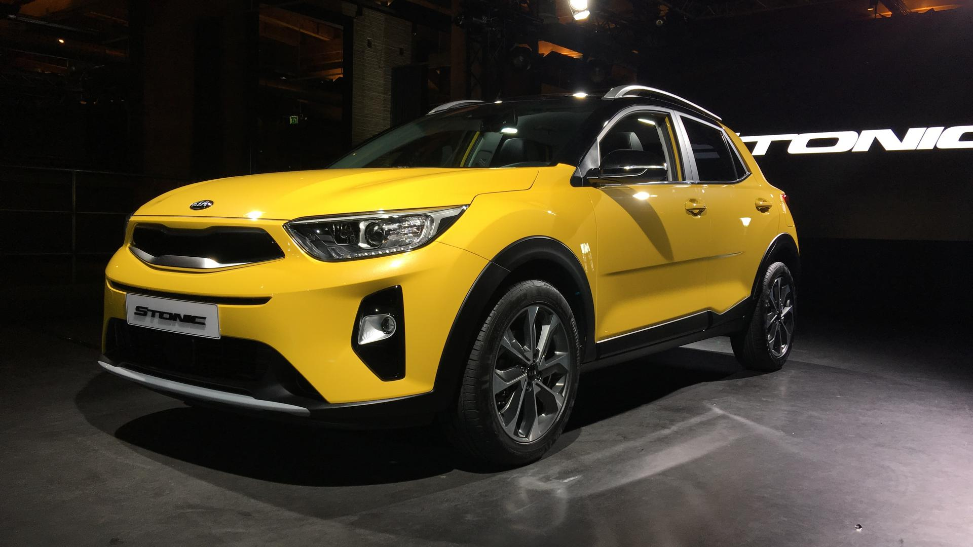 Mini Supercars For Sale >> 2018 Kia Stonic Subcompact Crossover Debuts In The Metal