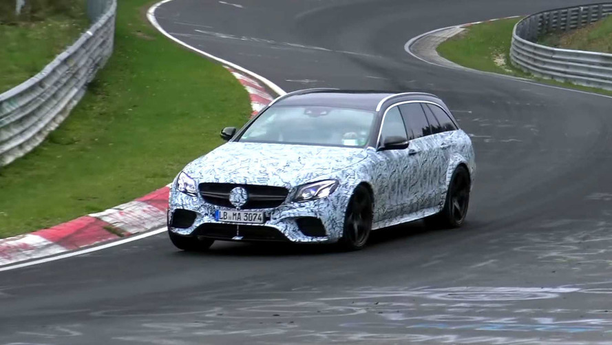 What's Up With This Spied Mercedes-AMG E63 Wagon?