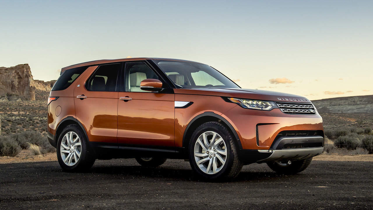 2017 land rover discovery first drive rounded but still grounded. Black Bedroom Furniture Sets. Home Design Ideas